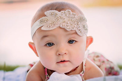 Rhinestone Headband - Bailey's Blossoms