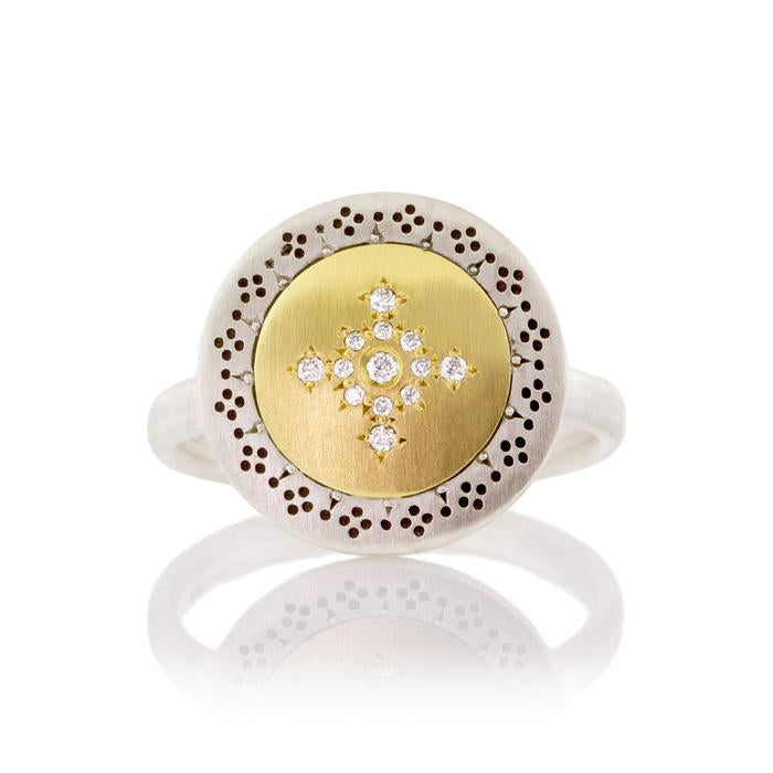 Round Seeds of Harmony Diamond Ring