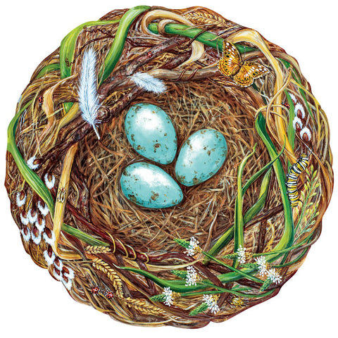 Woodland Nest Paper Placemats
