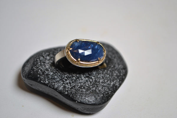 Sapphire Ring - The Little Green Store and Gallery  - 1