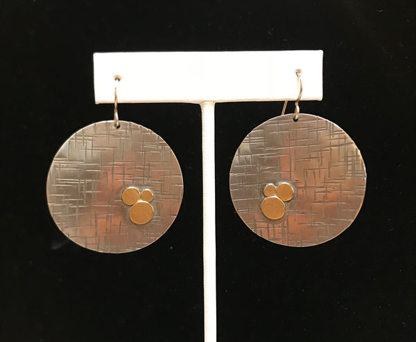 Sullivan Gold Coin Earrings
