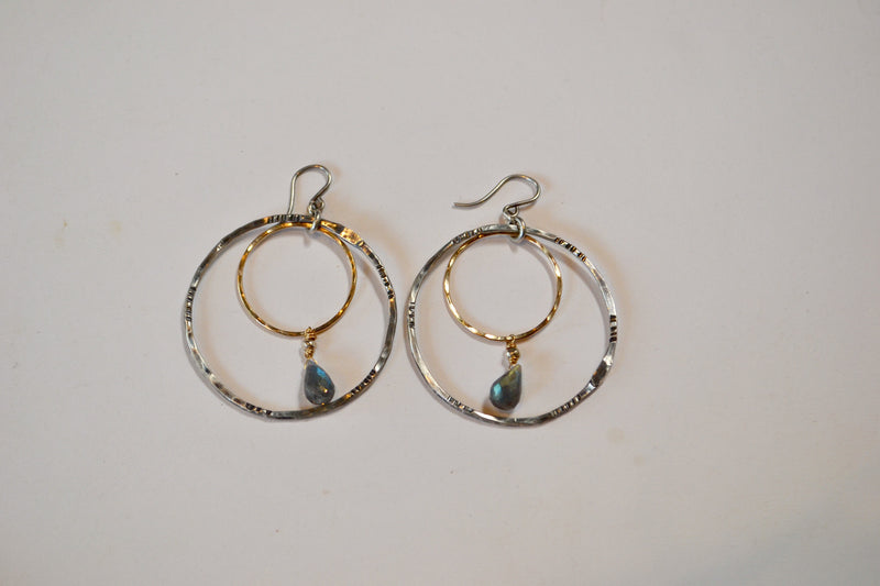 Hurst Earrings - The Little Green Store and Gallery