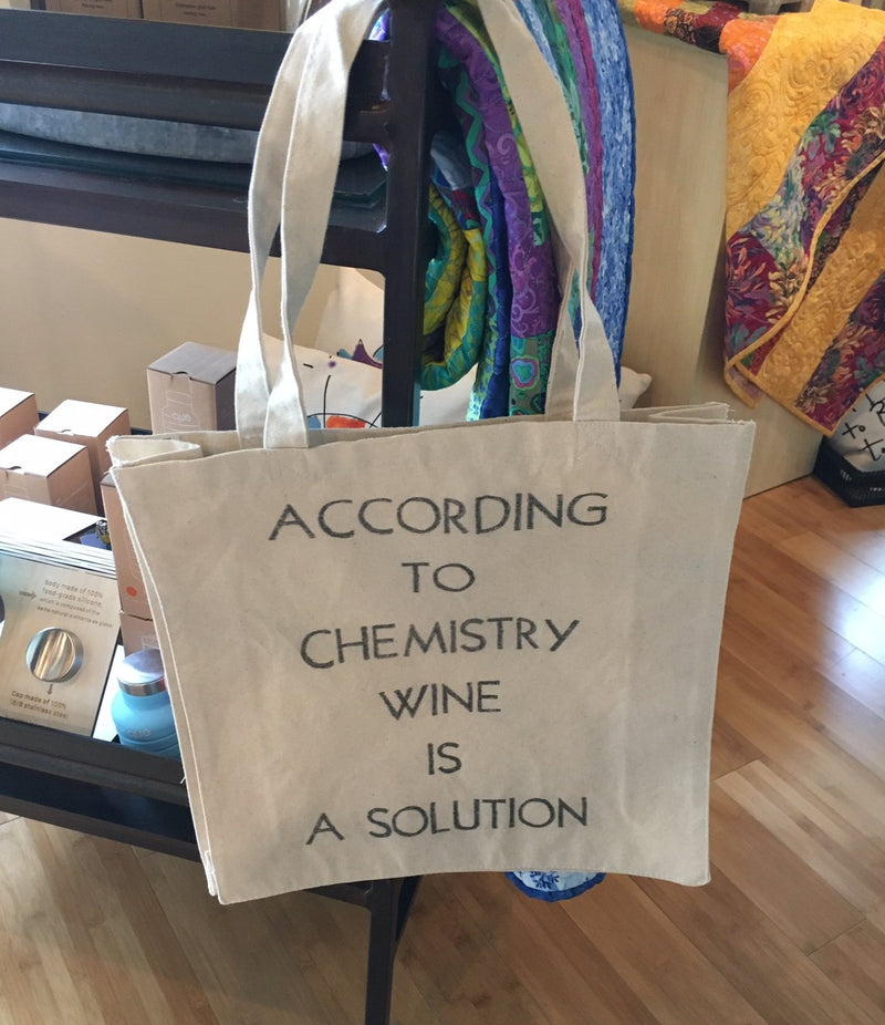 According to Chemistry Tote