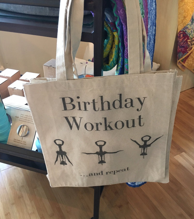 Birthday Workout Tote