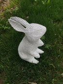 French Newspaper Mache' Bunny