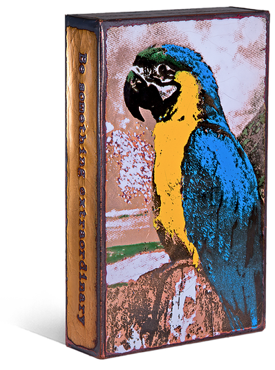 "Houston Llew Spiritile #218 ""Parrot"""