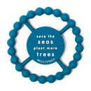 "Bella ""Save the Seas, Plant More Trees"" Teether"