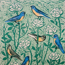 "Kent Ambler ""Bluebirds and Roses"""