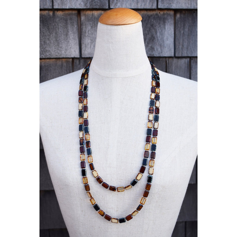 Trilogy Beaded Necklace