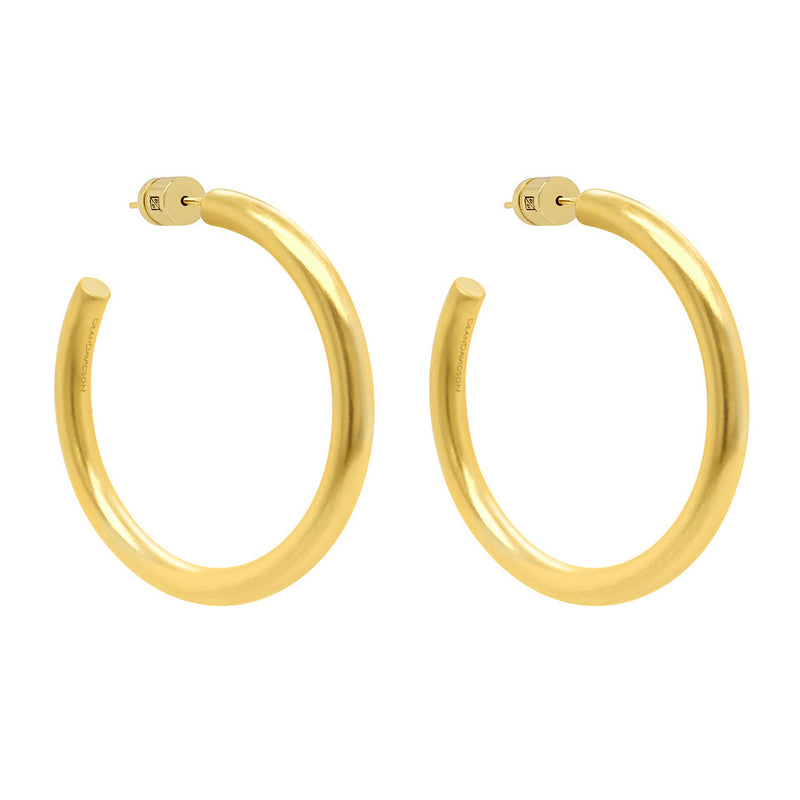 Midi Dune Hoop Earrings