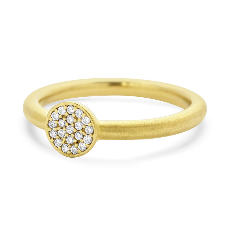 Signature Pave Knockout Ring