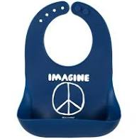 "Bella ""Imagine Peace"" Bib"