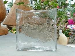 Clear Rectangle Vase