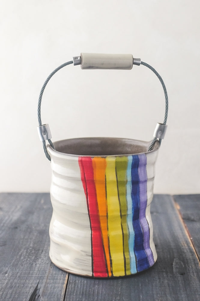 "Z Pots ""Rainbow"" Bucket"