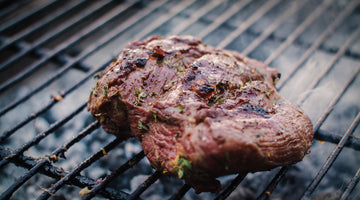 Grilled Boneless Leg of Lamb