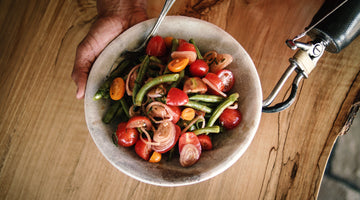 Cherry Tomato and Bean Salad
