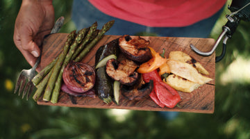 Grilled Veggies & BBQ Butter