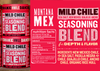 Chile Seasoning - 3 pack