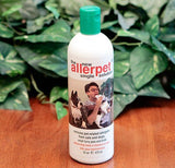 Allerpet Single Solution 16 fl oz Bottle Dander Remover for Pets (2 Pack) - Relieves Allergies - Bonus Mitt to Easily Apply Solution to Your Pet