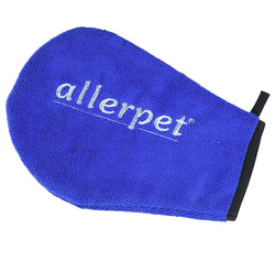 Allerpet Soft Microfiber Grooming Mitt / Glove and Applicator for Cleaning Cats and Dogs, Dusting Surfaces, Waxing Cars, and Adds Protection From Harmful Substances