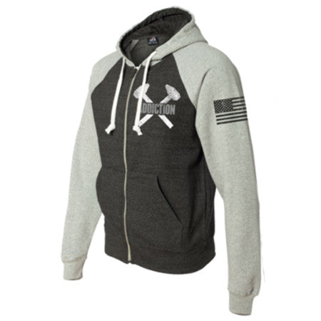 American Steal Zip Up Hood