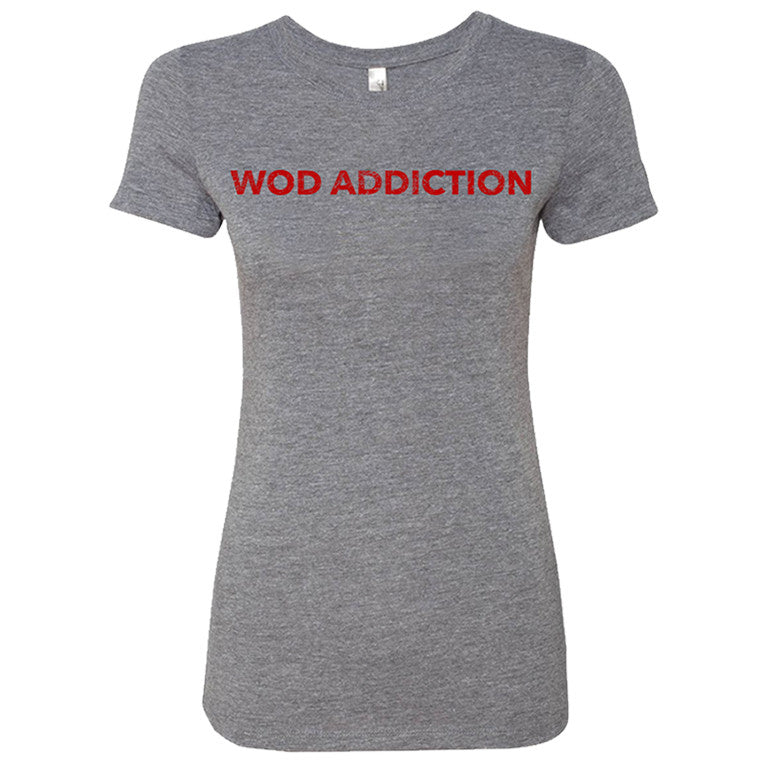 WOD Addiction Block Tee
