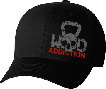WOD Addiction Fitted Hat