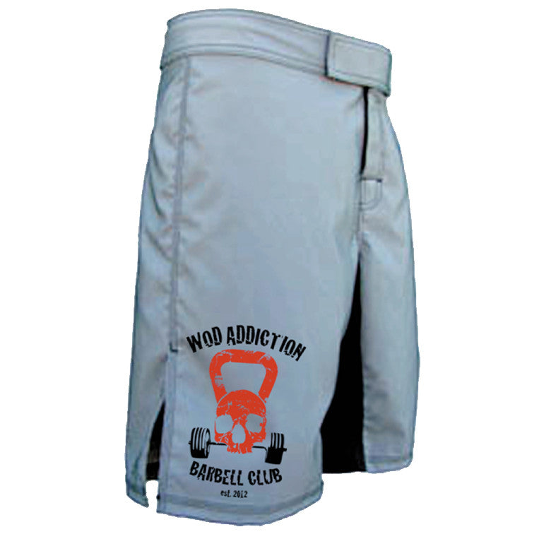 Rep It Out Fight Shorts - Grey