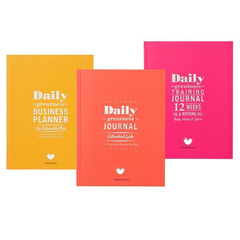 Dailygreatness Journal Box Set