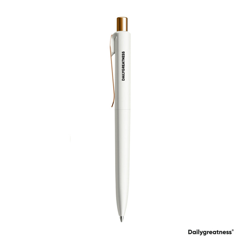 DG05 Pen Single - White - Dailygreatness USA