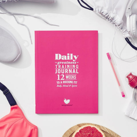 Dailygreatness Training Journal: 12 Weeks to a Rocking Fit Body, Mind & Spirit