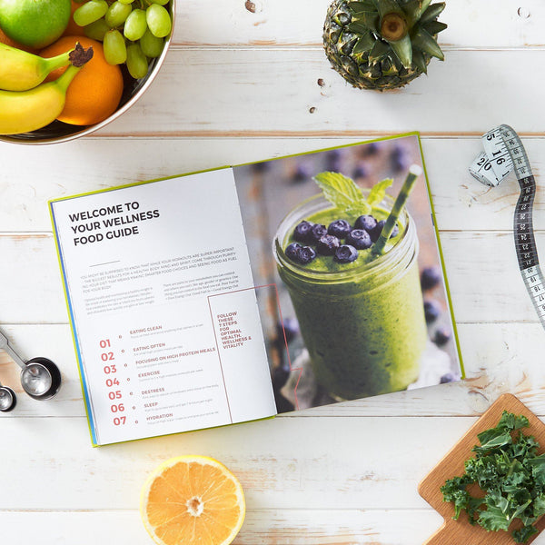 Dailygreatness Wellness Journal: A Holistic Guide for Health, Wellness & Vitality