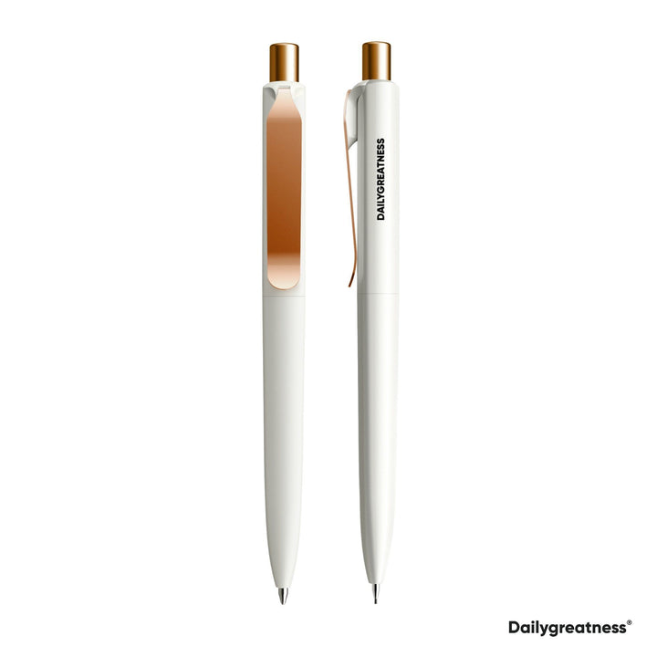 DG01 Pen and Pencil Duo - White - Dailygreatness USA