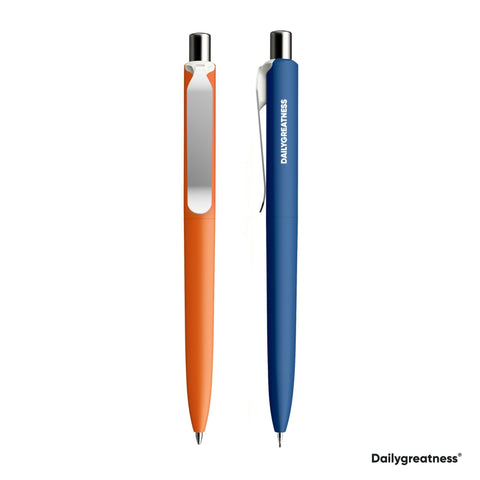 DG03 Pen and Pencil Duo - Orange & Blue - Dailygreatness USA