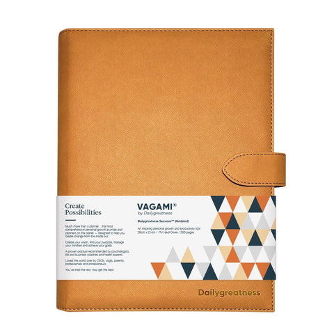 Vagami Success™ Planner (Undated) - Dailygreatness USA