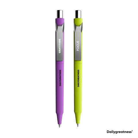 DG02 Pen Duo - Purple & Green - Dailygreatness USA