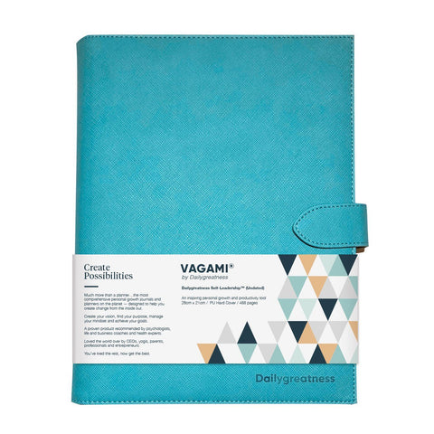 Vagami Self-Leadership™ Planner (Undated) - Dailygreatness USA