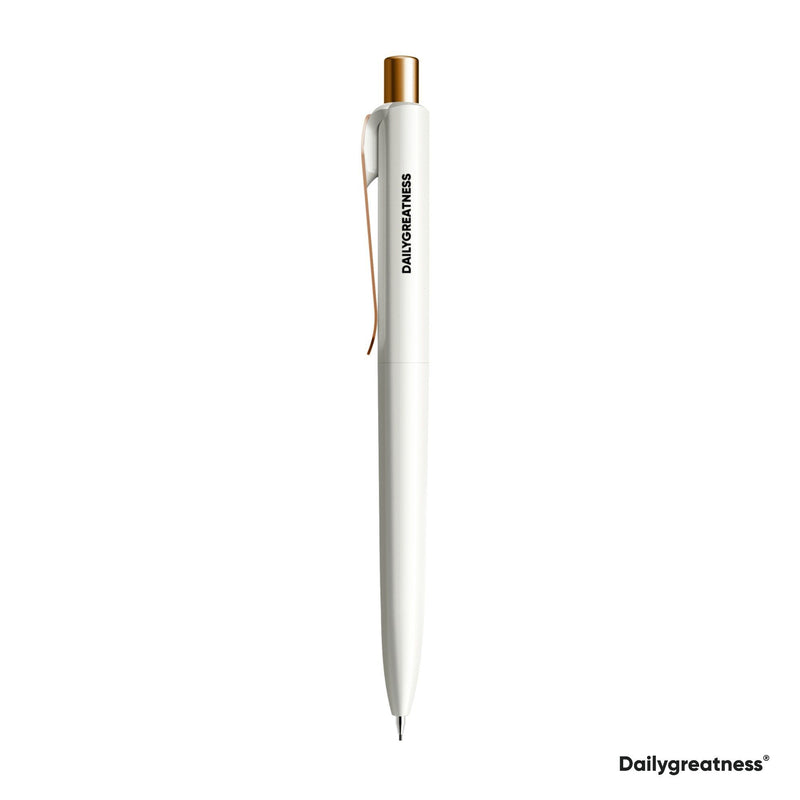 DG04 Pencil Single - White - Dailygreatness USA