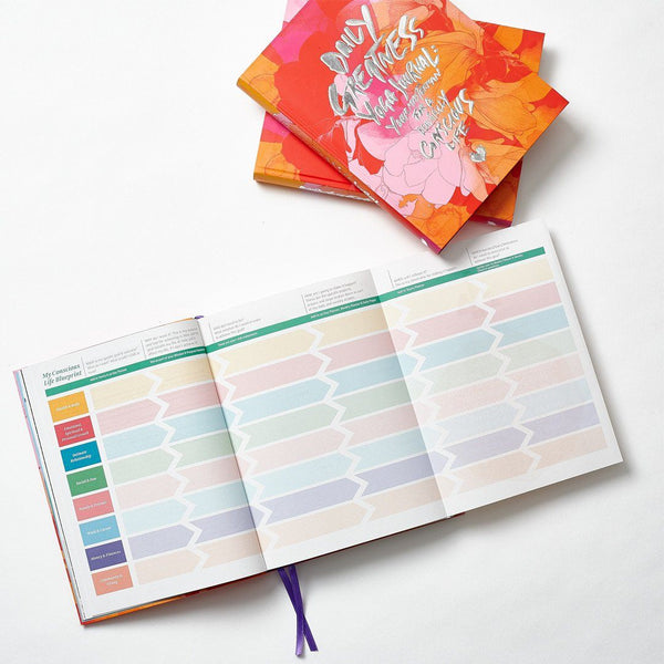 "Dailygreatness Yoga Journal ""Limited Bloom Edition"""