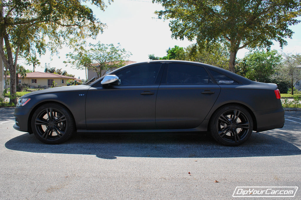 Matte Black Wheel Kit example 1