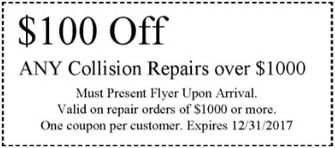 collision stop coupon