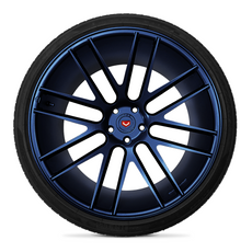 Blue Metalizer Wheel Kit