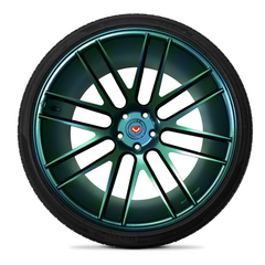 Green/Blue Chameleon Wheel Kit