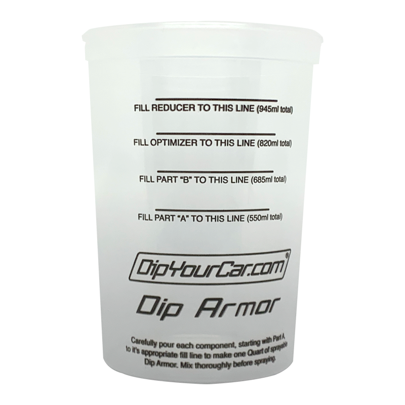 Dip Armor™ Mixing Cup - 5 Pack