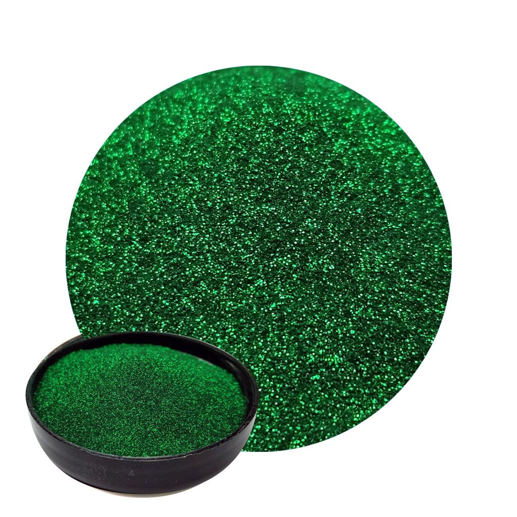 Emerald Green Micro Flakes