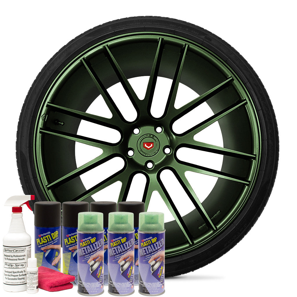 Green Metalizer Wheel Kit