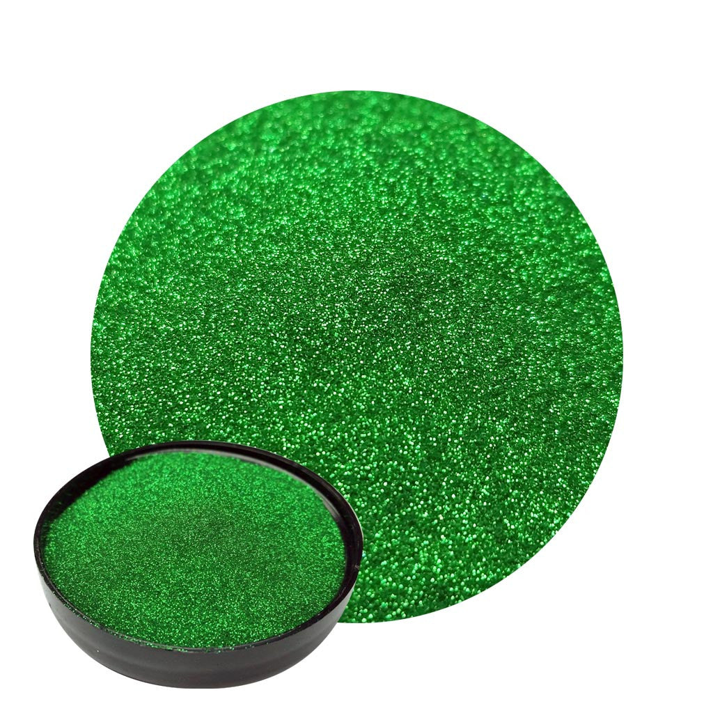 Lime Green Micro Flakes