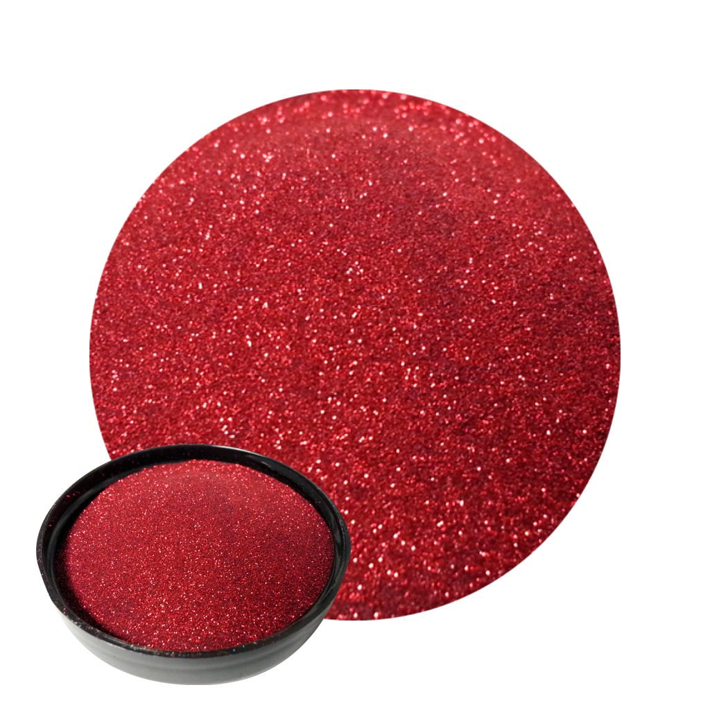 Ruby Red Micro Flakes