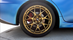 Uber Gold Wheel Kit