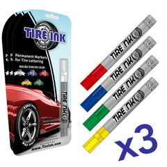 Tire Ink Pen (3 Pack)